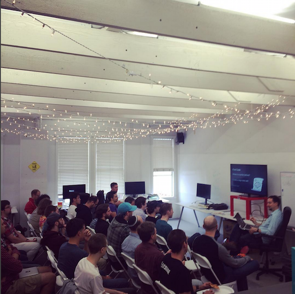 Joe Nelson's fireside chat at the recent Haskell meetup at Wagon.